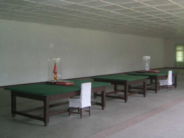 Room where the Armistice Agreement was signed on 27 July 1953
