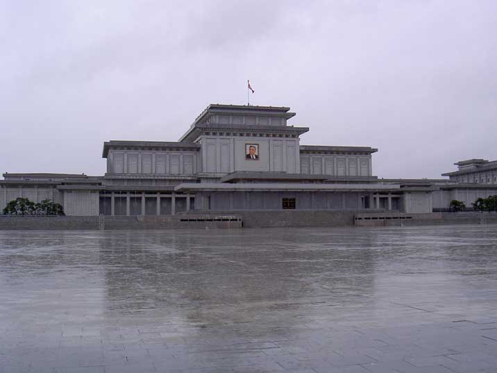 Kumsusan Memorial Palace Kim Il Sung's mausoleum since 1994