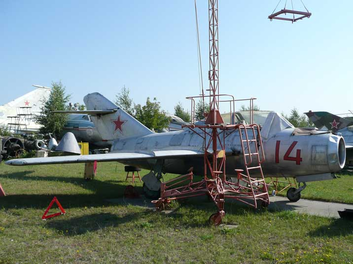 Mikoyan Gurevich MiG-15UTI Midget two seat trainer version