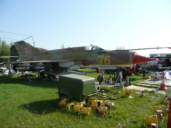 MiG-21BIS the final production model of the famous MiG-21 series