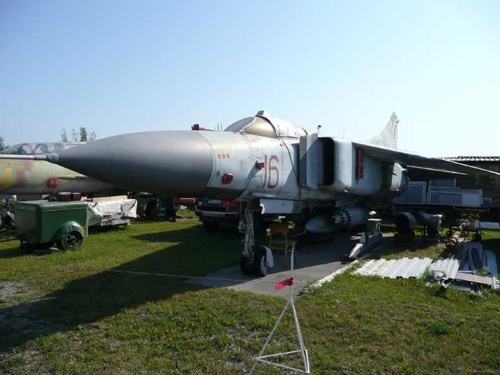 Mikoyan Gurevich MiG-23MF, the export version of the MiG-23M