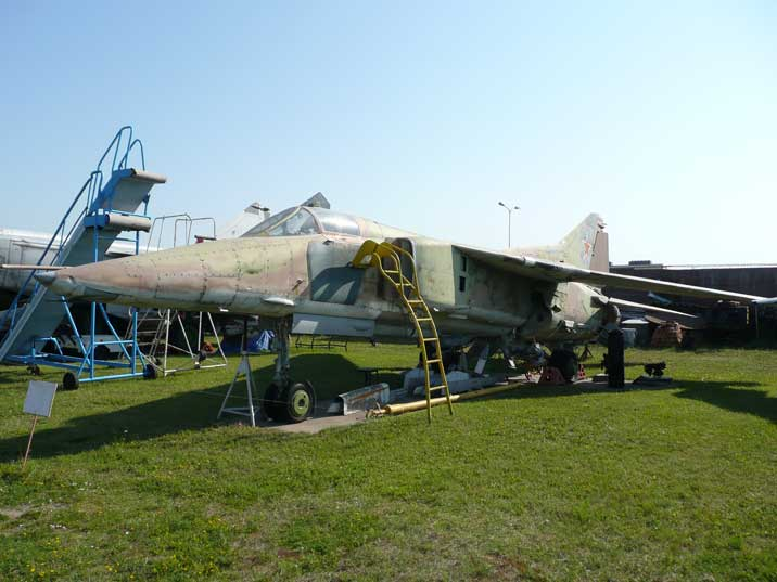 Mikoyan Gurevich MiG-27K Flogger ground attack aircraft