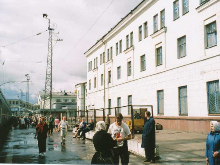 Kirov Trans Siberian Railway Station North-eastern Russia