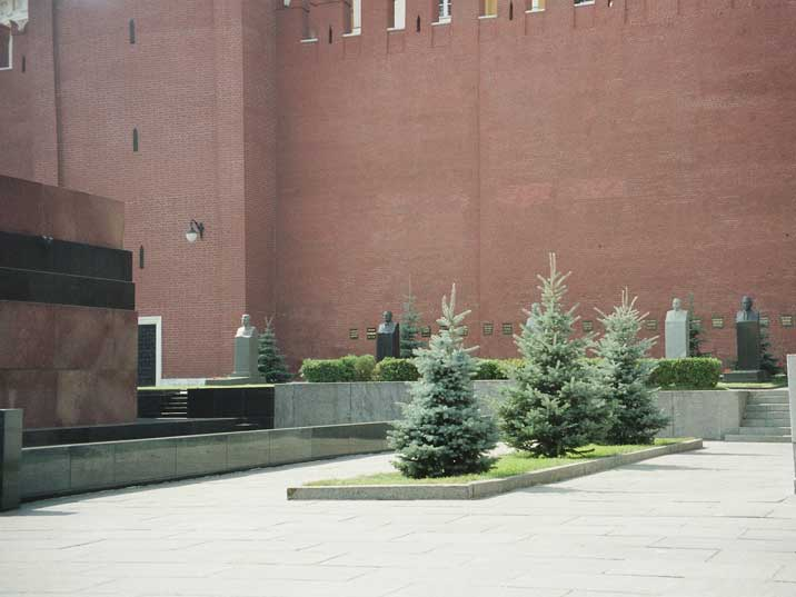 Kremlin wall necropolis where famous Soviets are buried
