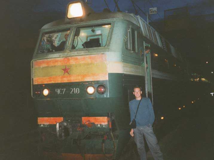 Electric locomotive model ChS7 made by Skoda in Czechoslovakia