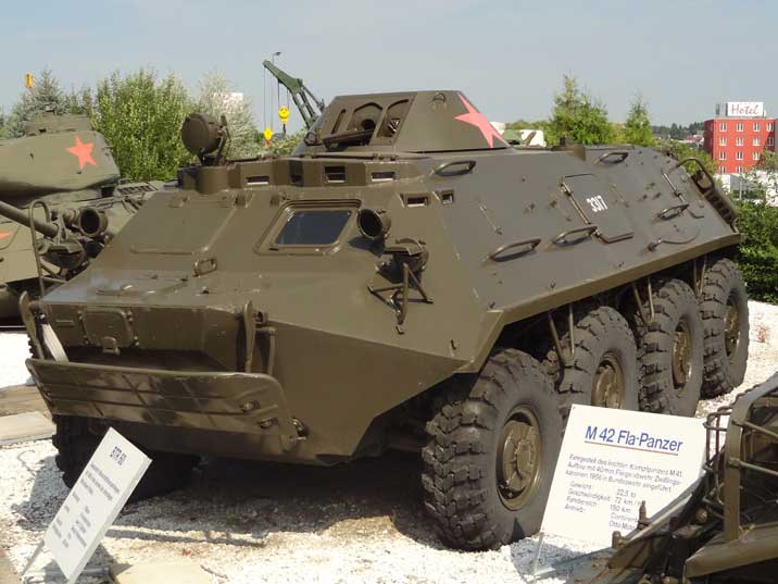 The BTR-60 armored personnel carrier was developed to replace the BTR-152 during the 1960s, over 25.000 were produced