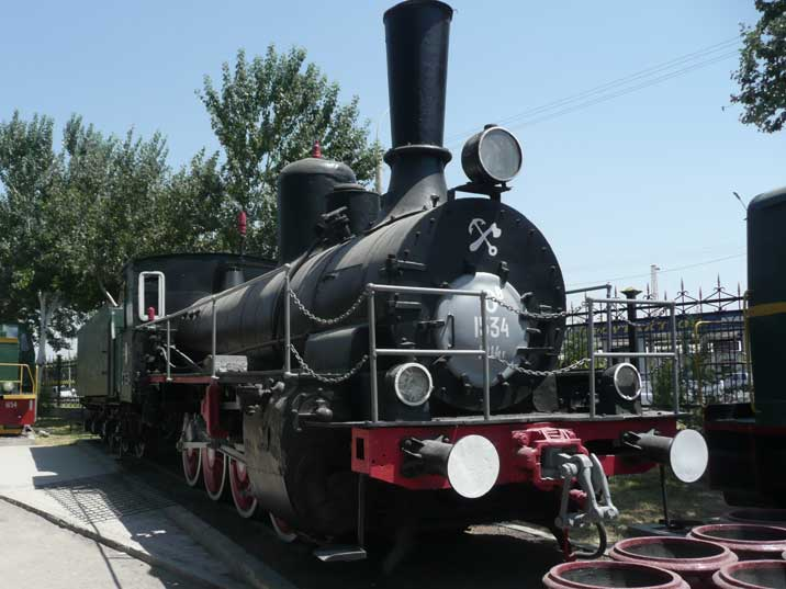 Ov 1534 steam locomotive build 1914, O class steam locomotives were produced in large Quantities by Russia and later the USSR