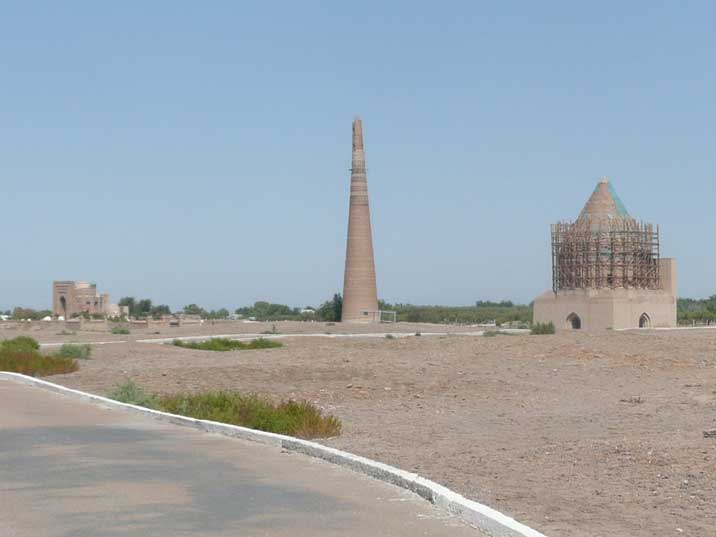 Gutlug Timur minaret and Sultan Ali and Soltan Tekesh's Mausoleums
