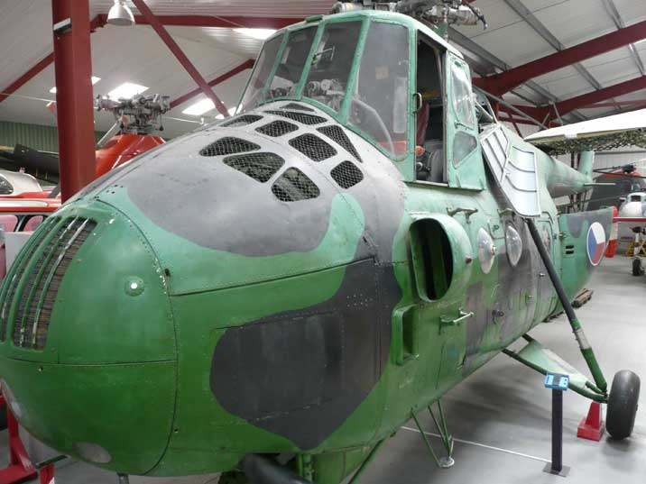 The Mi-4 was the Soviet response to the Sikorsky H-19 Chickasaw
