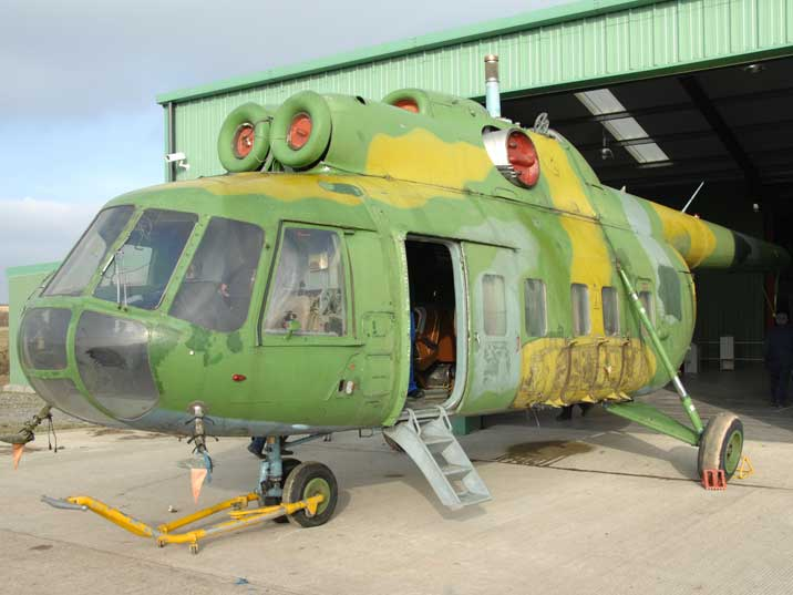 Rare VIP variant of the Mil Mi-8PS Hip medium transport helicopter