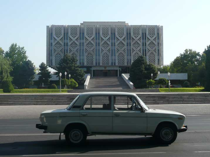 The former Lenin museum, now the Uzbekistan History Museum