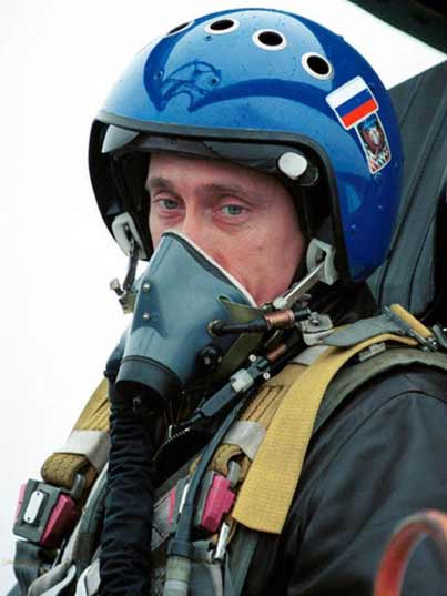 Putin ready to do a test flight in the new Russian PAK FA T-50 stealth fighter jet