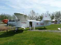 Antonov An-2R that Aviodrome bought from the Lithuanian Air Force