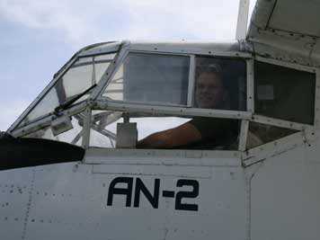 Comtourist pilot Jochem ready to take this bird to the sky