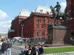 The former central Lenin Museum in Moscow near Red Square, the museum was closed in 1993 and is only opened occasionally