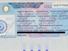 A Visa for Azerbaijan can be obtained from the local embassy, an invitation from a tourist organization is required