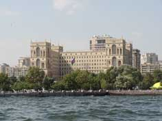 The Baku Soviet Palace now called House of Government was constructed between 1936 and 1952 in baroque style