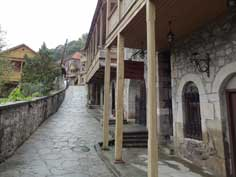 Sharambeyan street has been preserved as old town with craftsman's workshops, a gallery and a museum