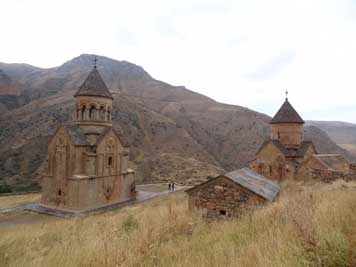 The 12th century Noravank Monastery is on of the most beautiful medieval buildings we visited in the Caucasus