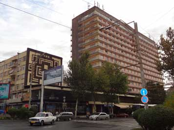 Ani Plaza was the best known tourist hotel in Yerevan during Soviet times and is a popular hotel today