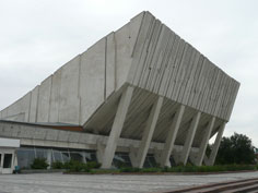 Kojomku Sports Palace was built in 1974 as one of the major construction projects designed to modernize the city