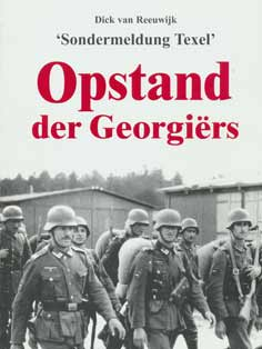 Book Opstand der Georgiers about the Russian War on Texel in 1945