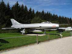 Polish Air Force Sukhoi Su-7BM Fighter Bomber with Lyukla AL-7F turbojet engine produced in 1955