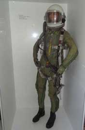 The VKK-6M designed for long high-altitude flights is the most commonly used Soviet and Warsaw Pact flight suit