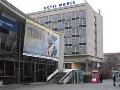 Hotel Orbis and the Cinema Centrum are both great examples of early 1970s architecture seen around Eastern Europe