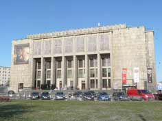 Construction of the Polish National Museum building in Krakow started in 1934 and was only finished in 1992