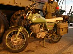East German MZ ETZ-250 motorcycle build by Motorradwerk Zschopau