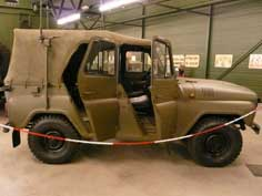 Russian UAZ-469 terrain vehicle still in production today
