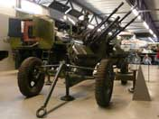 ZPU-4 Soviet towed quadruple-barrelled anti-aircraft gun