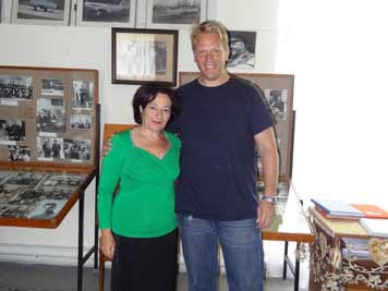 The guide of the Mikoyan Brothers Museum was not only very knowledgeable but also very friendly and charming