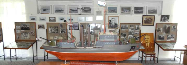 This ship model built by Artem Mikoyan during his youth clearly indicated he would become a gifted engineer