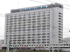 Hotel Orbita is an other Soviet era hotel in Minsk Belarus