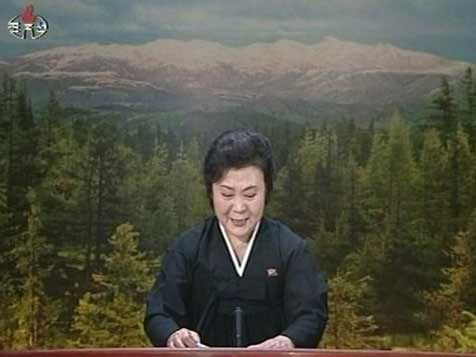 Emotional North Korean news anchor Ri Chun Hee announces the death of Kim Jong Il on two days after his death