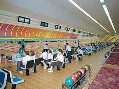 Gold Lane Bowling where tourists are welcome in Pyongyang