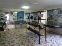 Room of the museum dedicated to the current Ukrainian Army, who run the museum as a military base