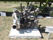 Turbo pump of the RD-214 rocket engine that powered the R-12 Dvina