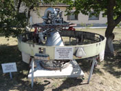 Steering engine of a UR-100N ICBM that is still in use by Russia today and will remain in service until 2030