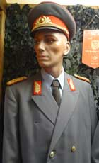 Army General Major of the NVA, the red shoulder patch indicates this is a uniform of an Army general