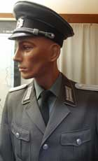 East German Peoples Army uniform of an Under Lieutenant of the 1st Motorized Rifle Division