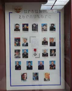 Individuals that were awarded the highest title of Nagorno Karabagh, the