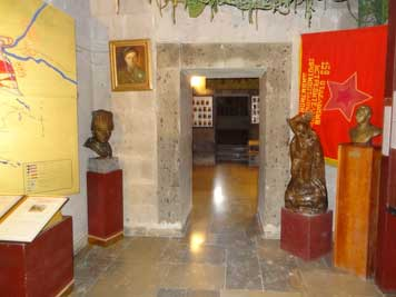 The Yerevan Military museum displays many works of Art depicted the heroic efforts of the Red Army